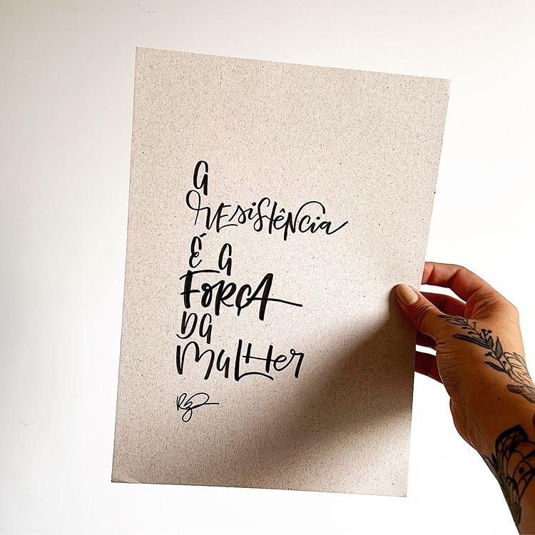 lettering musica jorge vercillo da artista @robertacruzz
